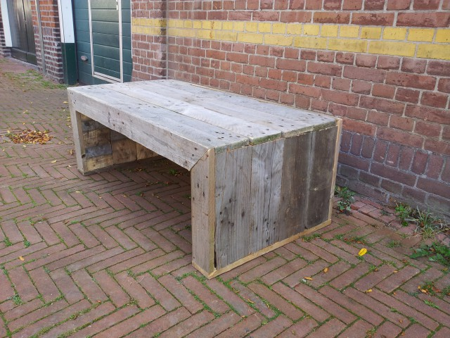Salontafel pallethout